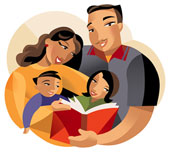 parents reading